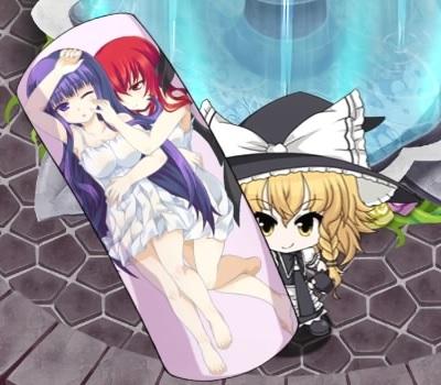魔女と使い魔の抱き枕